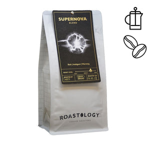 Roastology Supernova 250g or 1kg bag of Ground or Roasted Coffee Beans