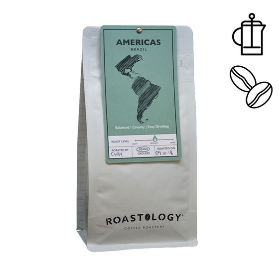 Brazilian 250g or 1kg bag of Ground or Roasted Coffee