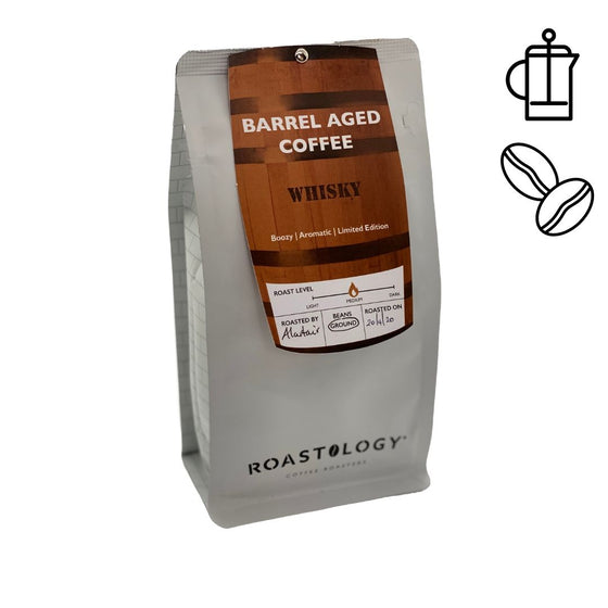 Roastology Barrel Aged Whisky Infused Coffee 250g