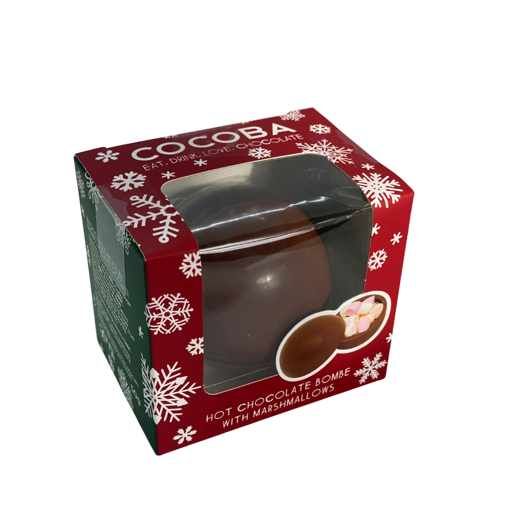 Christmas Hot Chocolate Bombe