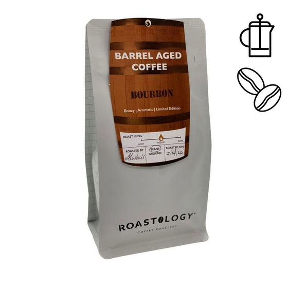 Roastology Barrel Aged Bourbon Infused Coffee 250g