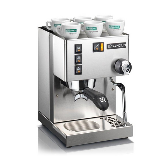 Rancilio Silvia E Traditional Coffee Machine New 2018 Model