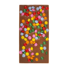 Candy Coated Belgian Milk Chocolate Bar
