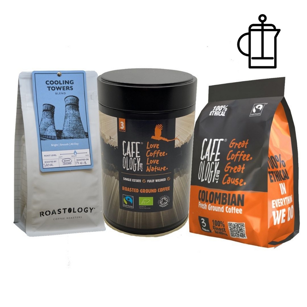 'Three of Our Best '-  Colombian, Bird Friendly & Cooling Towers Coffee