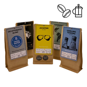 Roastology Mixed Coffee Taster Pack 5 x 100g