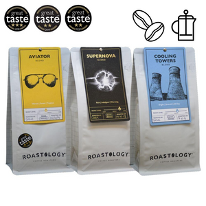 Roastology Luxury Triple Packs: Aviator, Cooling Towers & Supernova