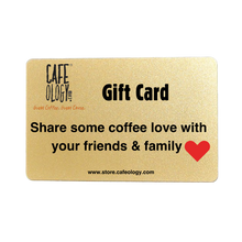 Cafeology Gift Cards