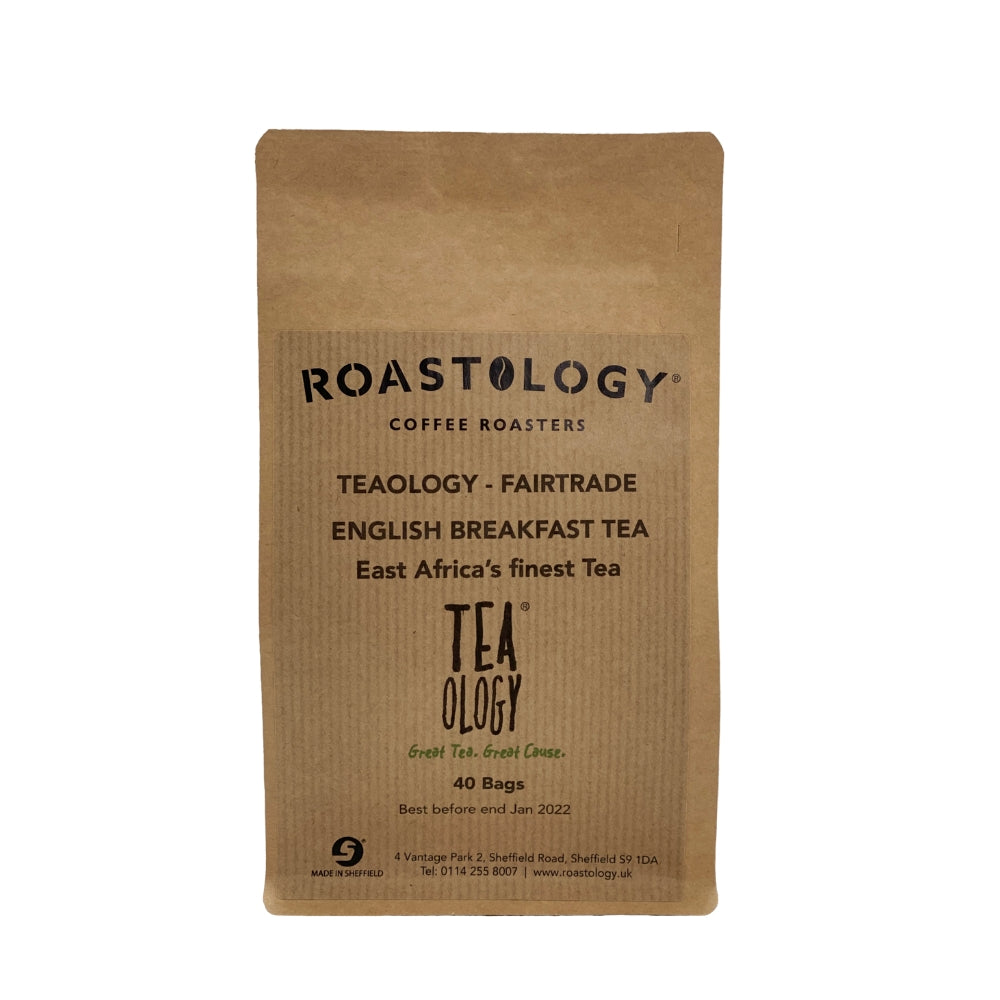 An image of Teaology Premium East African English Breakfast Teabags x 40