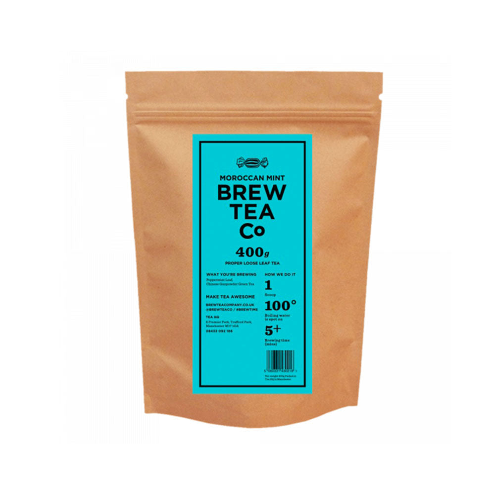 Brew Tea Moroccan Mint Loose Leaf Tea x 400g
