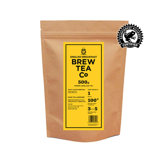 Brew Tea English Breakfast Loose Leaf Tea x 500g