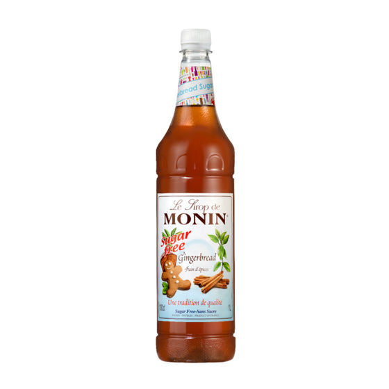 Monin Sugar Free Gingerbread Syrup x 1 Litre