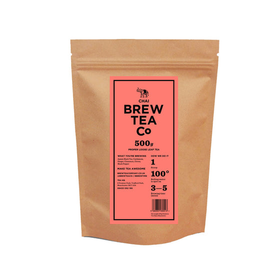 Brew Tea Masala Chai Loose Leaf Tea x 500g