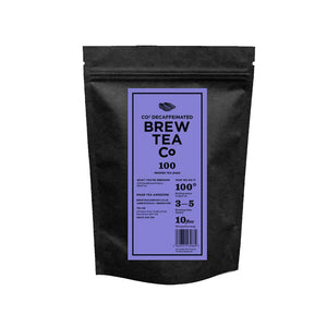 Brew Tea CO2 Decaff Leaf Pyramid Tagged Tea x 50