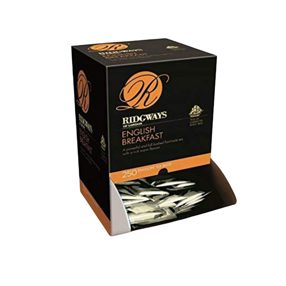 Ridgways Premium Fairtrade English Breakfast Enveloped Teabags x 250