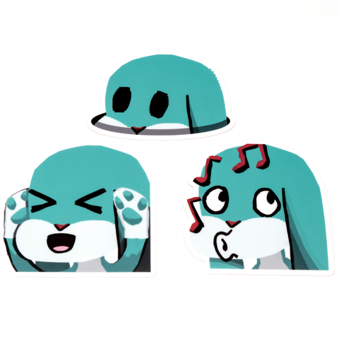 Emote Stickers