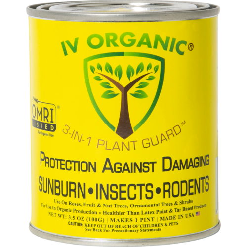 IV ORGANIC 3-in-1 Plant Guard (WHITE)