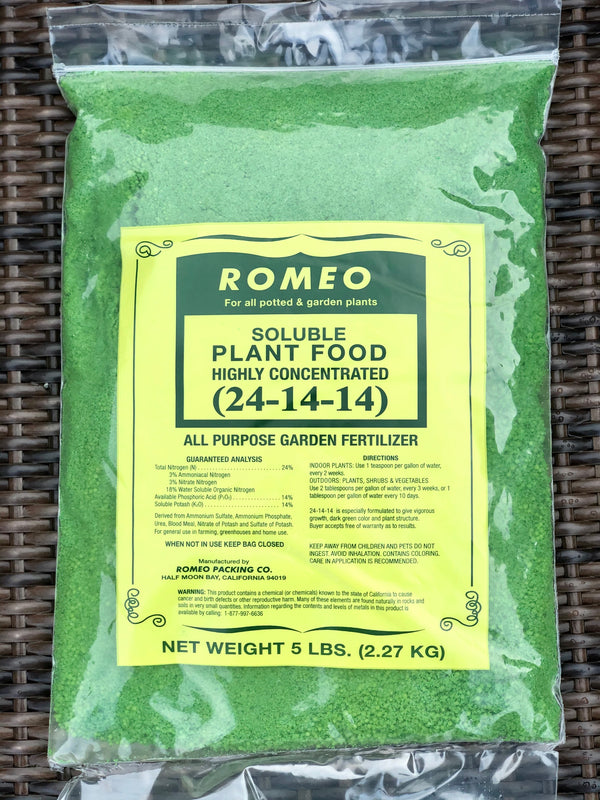 Romeo Fertilizer (non-organic - 2:1:1)