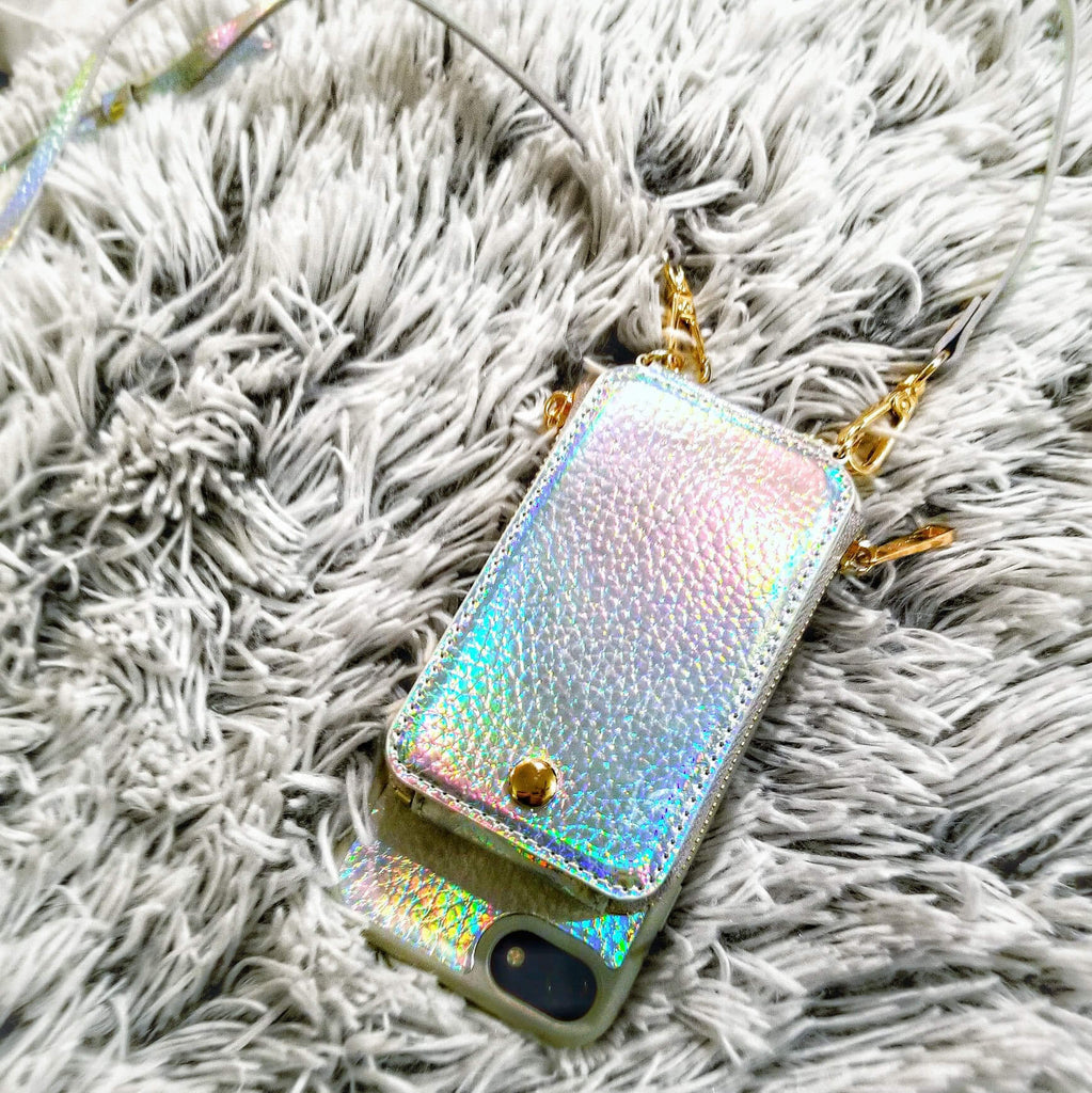 Holo Crossbody TREK™ for Galaxy S8 - TREK™ | Cross-body Phone Case Purses