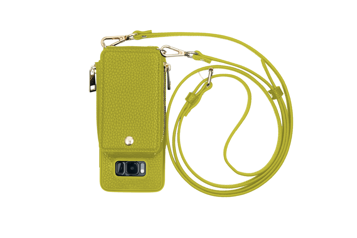 Avocado Crossbody TREK™ for Galaxy S8 - TREK™ | Cross-body Phone Case Purses