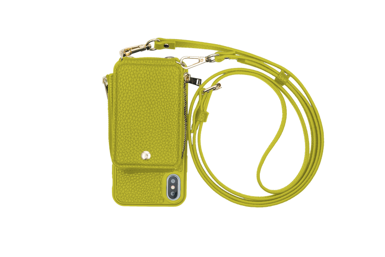 Avocado Crossbody TREK™ for iPhone X/XS - TREK™ | Cross-body Phone Case Purses