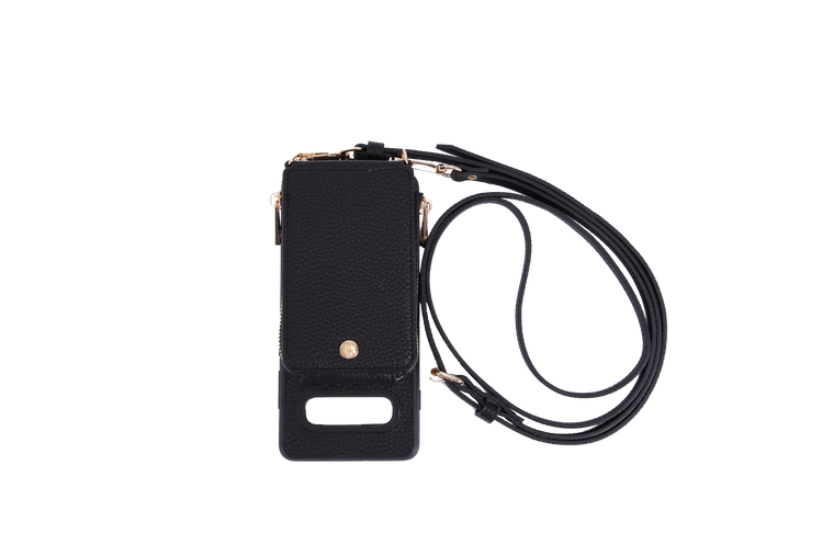 Black Crossbody TREK for Galaxy S10+ - TREK™ | Cross-body Phone Case Purses