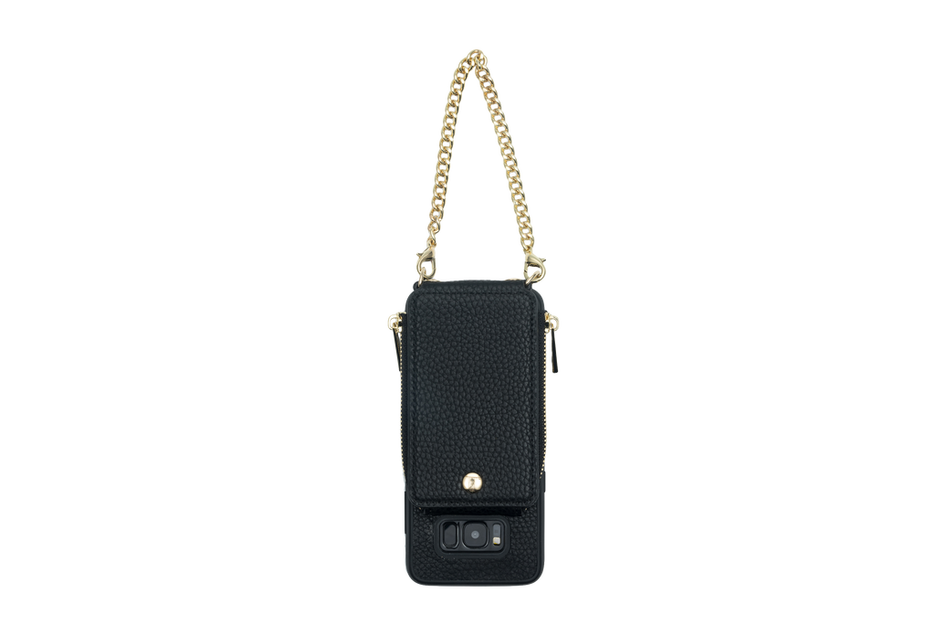 Black Crossbody TREK™ for Galaxy S8 - TREK™ | Cross-body Phone Case Purses