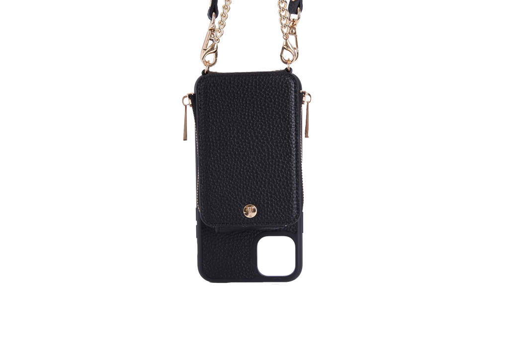 Black Crossbody TREK for iPhone 11 Pro - TREK™ | Cross-body Phone Case Purses