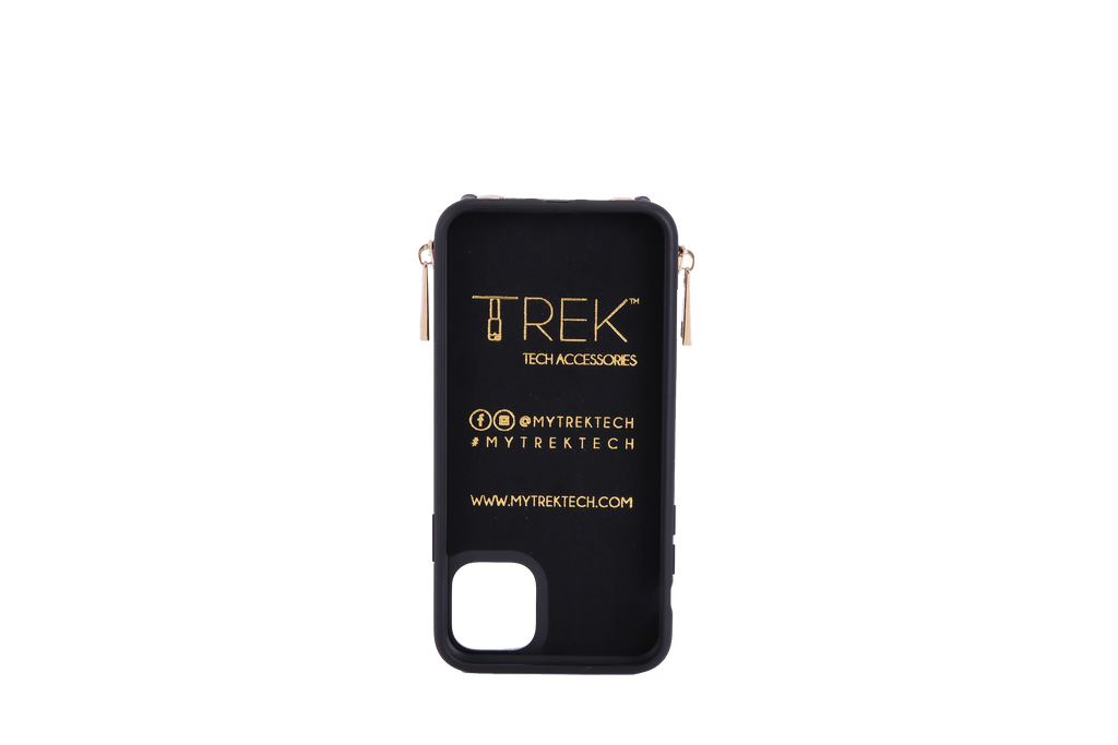 Black Crossbody TREK for iPhone 11 Pro Max - TREK™ | Cross-body Phone Case Purses