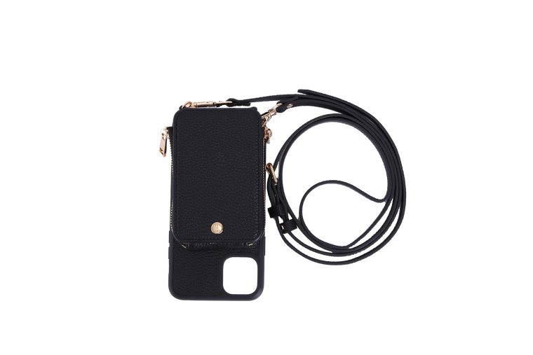 Black Crossbody TREK for iPhone 11 - TREK™ | Cross-body Phone Case Purses