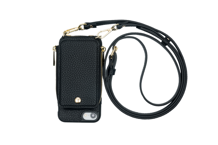 Black Crossbody TREK™ for iPhone 6/7/8 - TREK™ tech accessories