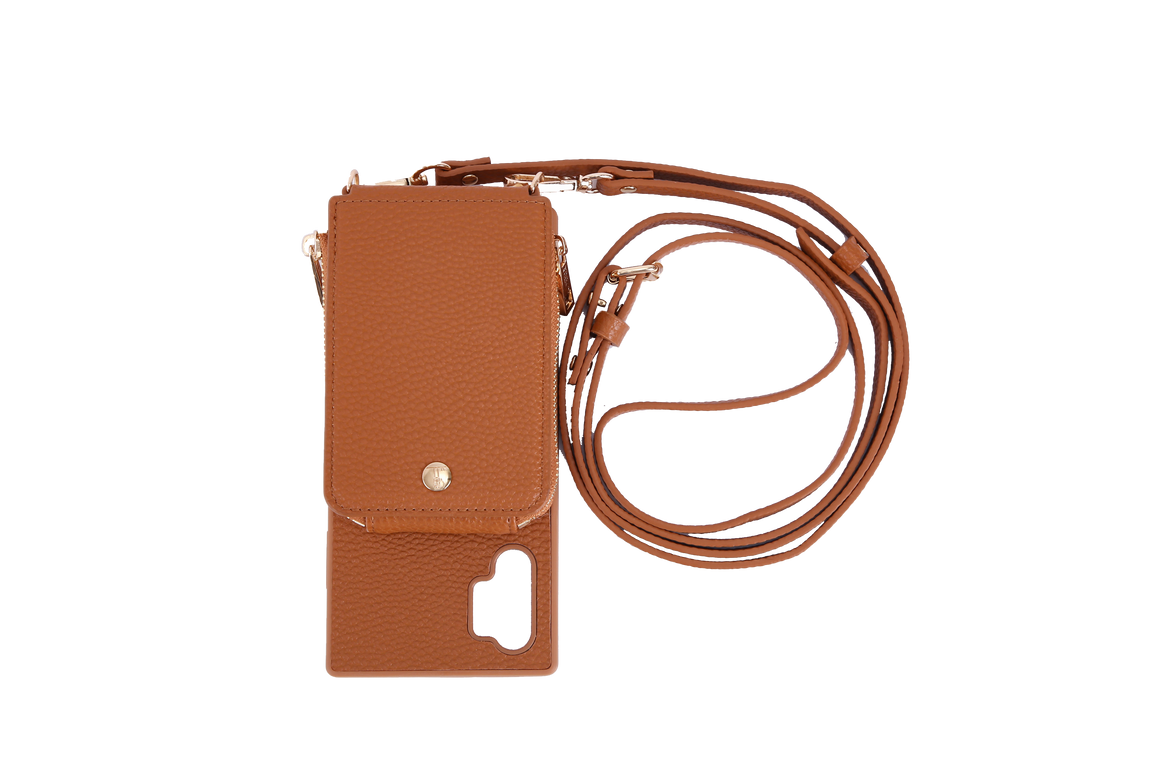 Camel Crossbody TREK for Note 10+ - TREK™ | Cross-body Phone Case Purses