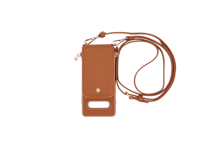 Camel Crossbody TREK for Galaxy S10+ - TREK™ | Cross-body Phone Case Purses