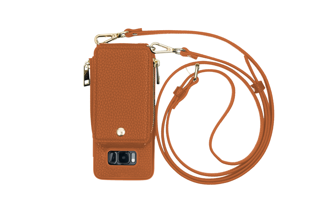 Camel Crossbody TREK™ for Galaxy S8 - TREK™ | Cross-body Phone Case Purses