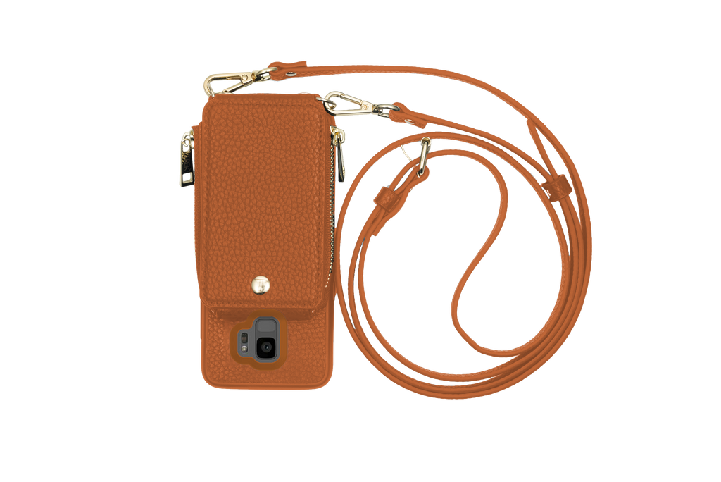 Camel Crossbody TREK™ for Galaxy S9 - TREK™ | Cross-body Phone Case Purses