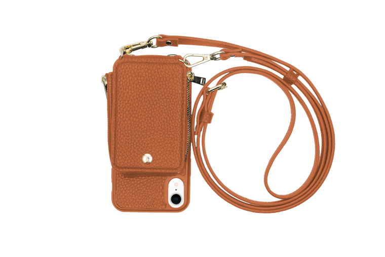 Camel Crossbody TREK™ for iPhone XR - TREK™ | Cross-body Phone Case Purses