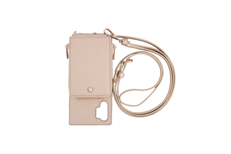 Gold Crossbody TREK for Note 10+ - TREK™ | Cross-body Phone Case Purses