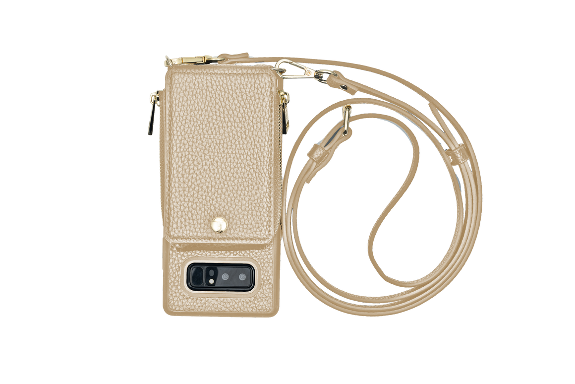 Gold Crossbody TREK™ for Note 8 - TREK™ | Cross-body Phone Case Purses