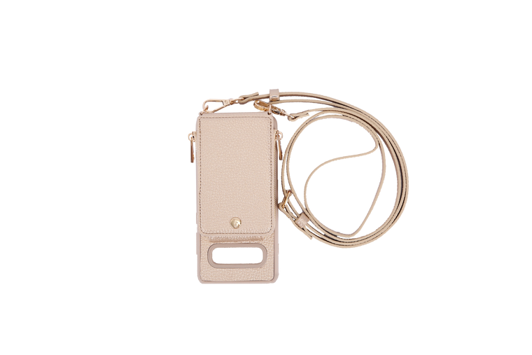 Gold Crossbody TREK for Galaxy S10+ - TREK™ | Cross-body Phone Case Purses