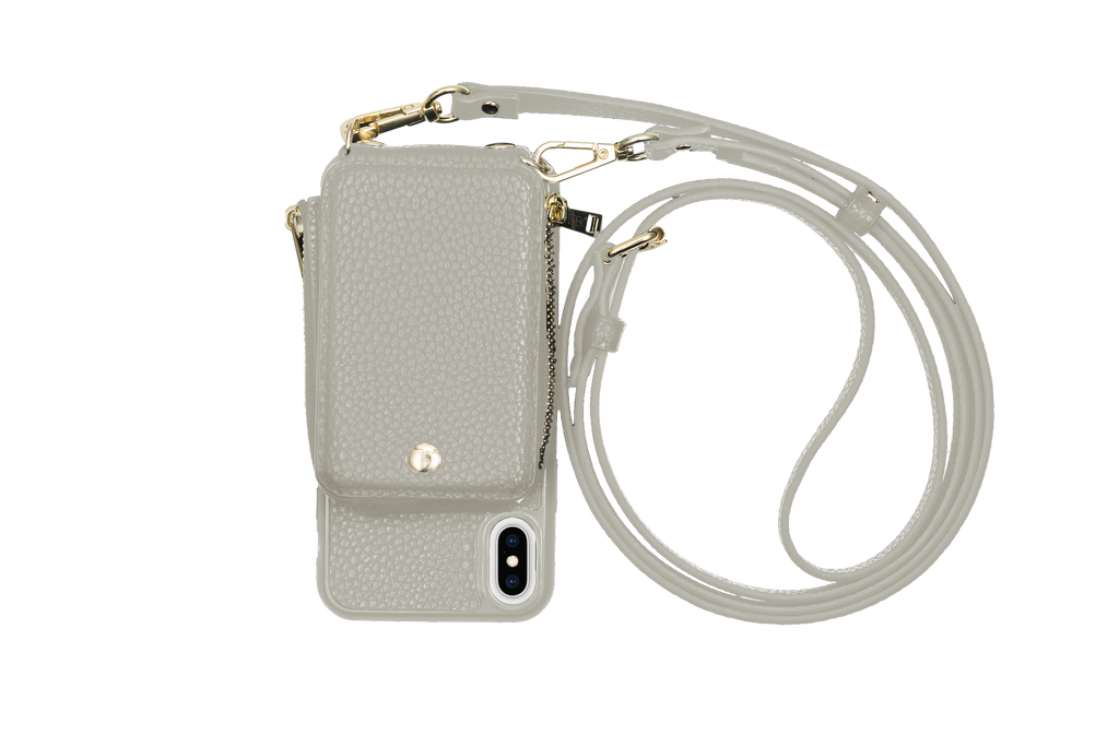 Gray Crossbody TREK™ for iPhone XS MAX - TREK™ | Cross-body Phone Case Purses