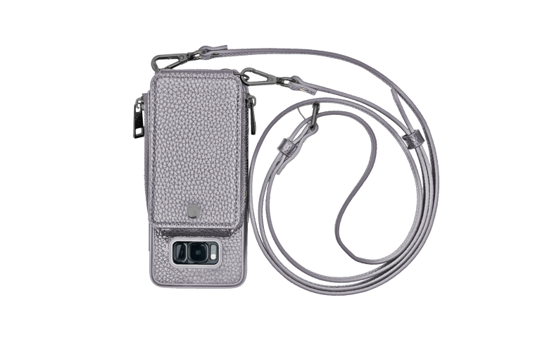 Gunmetal Crossbody TREK™ for Galaxy S8 - TREK™ tech accessories