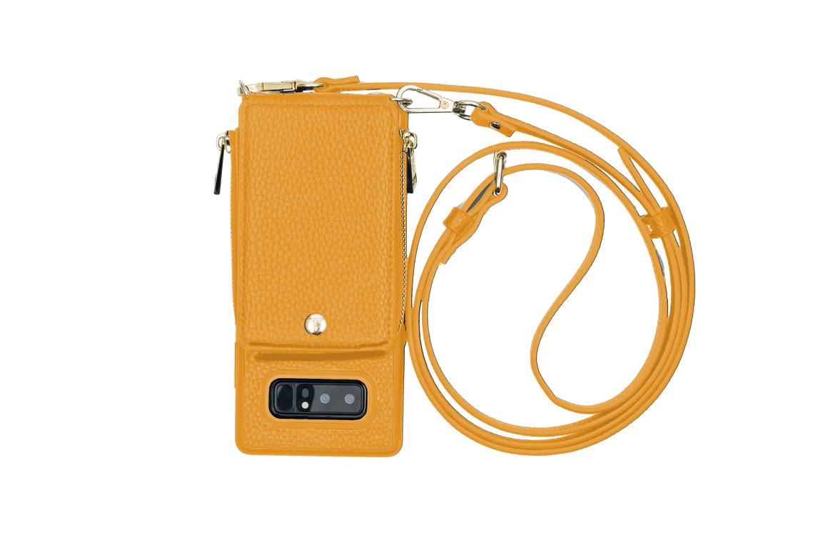 Mustard Crossbody TREK™ for Note 8 - TREK™ | Cross-body Phone Case Purses