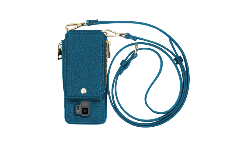 Peacock Crossbody TREK™ for Galaxy S9 - TREK™ | Cross-body Phone Case Purses