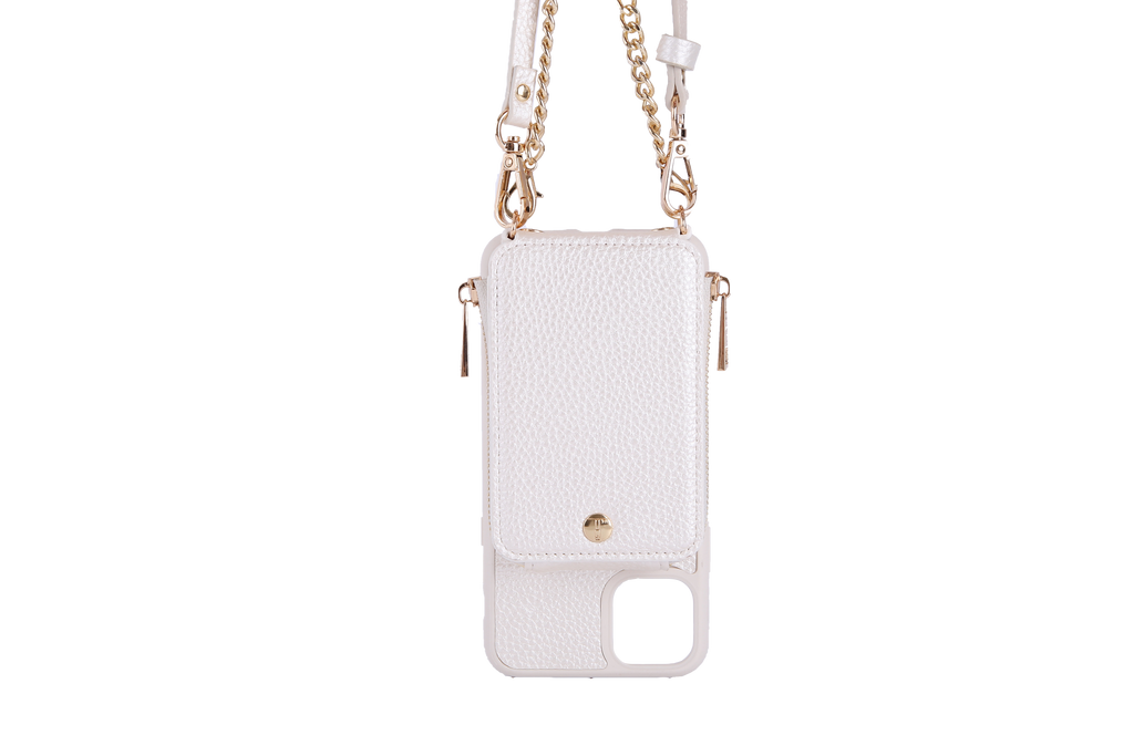 Pearl Crossbody TREK for iPhone 11 Pro - TREK™ | Cross-body Phone Case Purses