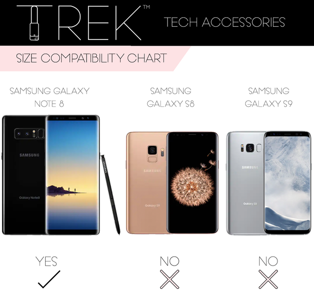 Holo Crossbody TREK™ Compatible with Note 8 1