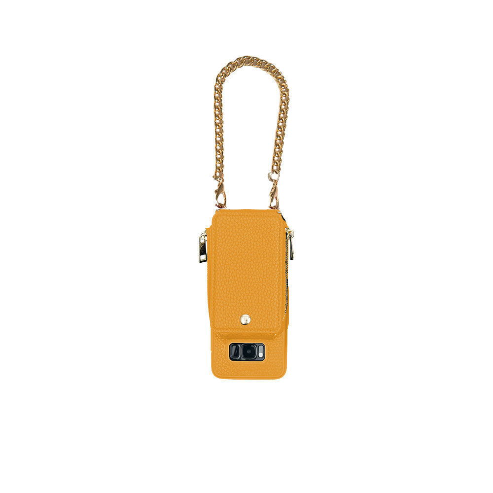 Mustard Crossbody TREK™ for Galaxy S8 - TREK™ | Cross-body Phone Case Purses
