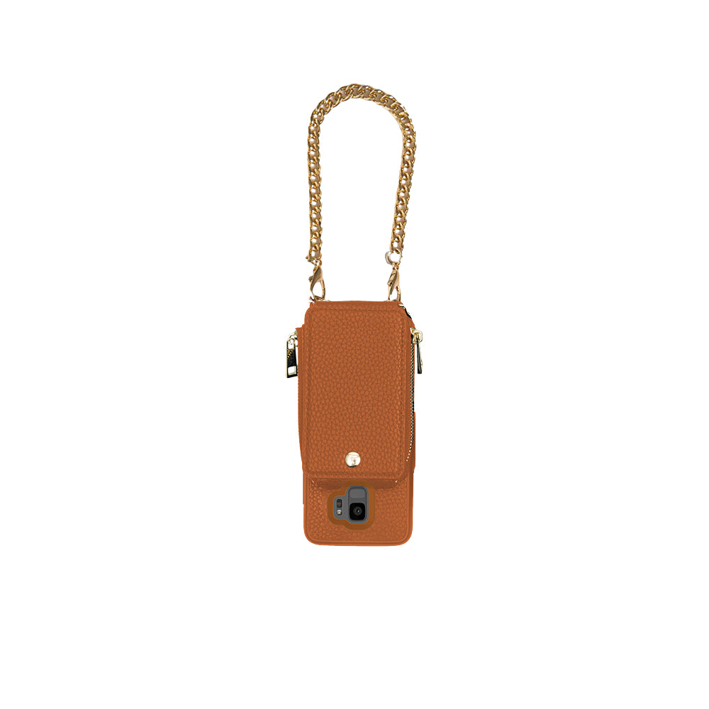 Camel Crossbody TREK for Galaxy S9+ - TREK™ | Cross-body Phone Case Purses