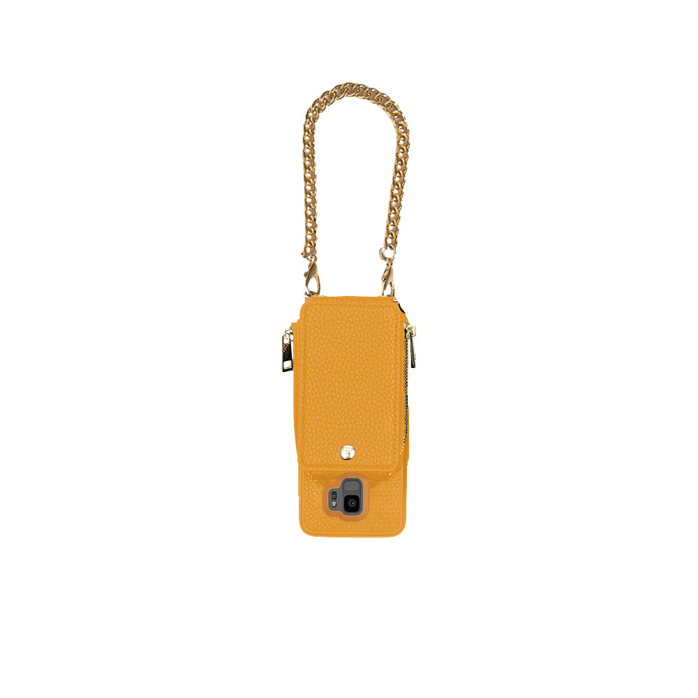 Mustard Crossbody TREK™ for Galaxy S9 - TREK™ | Cross-body Phone Case Purses