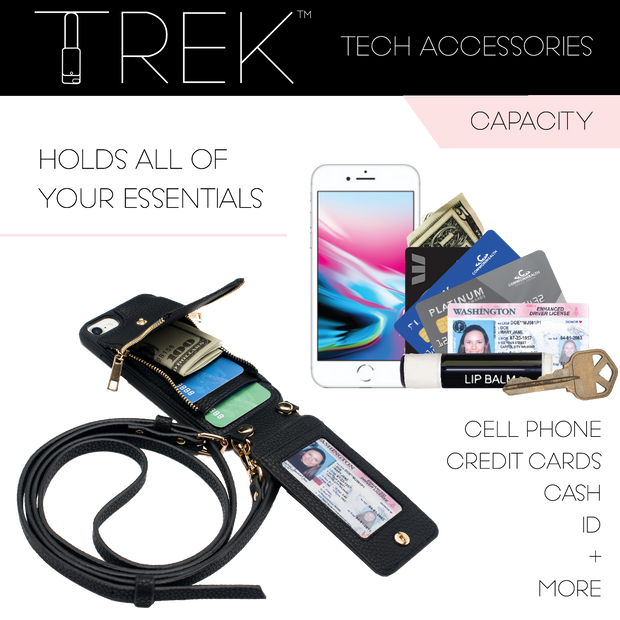Peacock Crossbody TREK™ Compatible with Note 8 1