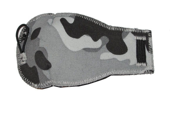 Grey Camoflauge - kids eye patches