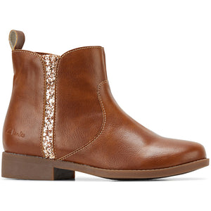 CLARKS TRUDY ZIP BOOT